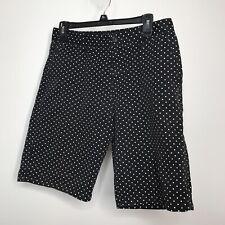 21 Men Shorts Size 30 Polka Dot 4 Pockets Cotton Navy Cream