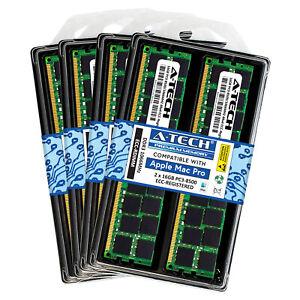 128GB KIT 8X 16GB PC3-8500 REGISTERED APPLE Mac Pro A1289 MC561LL/A MEMORY RAM