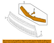 KIA OEM 14-16 Forte Koup Front Bumper Grille-Upper Grill 86350A7200