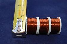 3x Bobine de Cuivre Câble 0.21mm épais ,LIAGE DE MOUCHE,PÊCHE À LA MOUCHE,Fly