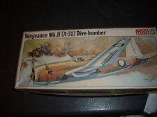 FROG VENGEANCE MK.II A-31 DIVE-BOMBER PLASTIC MODEL 1/72