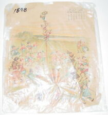 Vintage 1898 Brownies Palmer Cox Calendar May