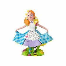 New Enesco Disney By Britto Alice Mini Stone Resin Figurine