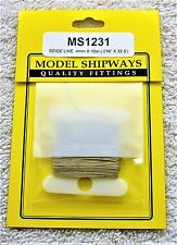 Model Shipways Fittings JEWELRY NYLON RIGGING LINE - BEIGE .4mm x 9m