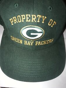 PROPERTY OF GREEN BAY PACKERS Hat VINTAGE By CHAMPION PRO LINE Rare NFL Apparel