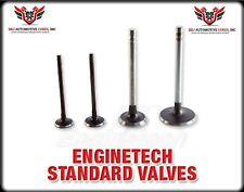 16 ENGINETECH CHEVY GENIII IV 4.8 5.3 5.7 6.0 INTAKE - EXHAUST VALVES 2.00 1.551