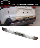 Rear Door Tailgate Plate Lid Trim Accessories Fits for All New RAV4 2020 2021