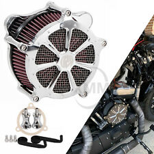 RSD Black CNC Air Filter Cleaner Intake Harley softail dyna touring glide 08-17