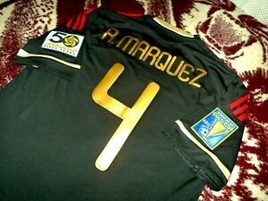 Jersey mexico Rafael Marquez adidas 2011 (S) Gold Cup shirt soccer vintage black