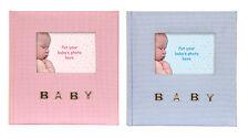"Gingham Baby Photo Album Baby Boy or Baby Girl 100 4x6"" 10x15cm Photos"
