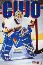 CURTIS JOSEPH St. Louis Blues Goalie 1994 NHL Hockey Action Starline POSTER