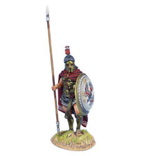 First Legion: AG062 Greek Hoplite Standing with Cloak and Dory