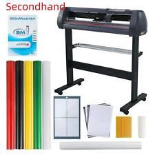 Secondhand 870mm Sign Sticker Vinyl Cutter 34 Vinyl Cutting Plotter Machine