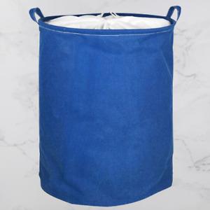 250 Litre Laundry Bag Basket Dirty Clean Clothes Washing Storage Hamper - Blue