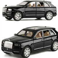 1:24 Rolls Royce Cullinan Diecast toy car Metal Model birthday Gifts For kids