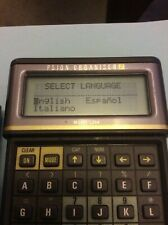 RARE Psion Organiser II LZ64, ENGLISH, SPANISH AND ITALIAN language defaults.