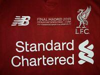 Liverpool NB 2019 Champions League Final Home Short-sleeve Shirt/Jersey MO SALAH