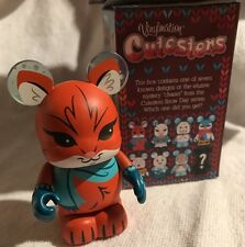 """DISNEY VINYLMATION 3"""" CUTESTERS SNOW DAY SERIES RED FOX & THE HOUND TOY FIGURE"""