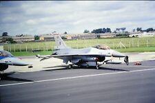 2/147-2 General Dynamics F-16 Fighting Falcon Belgium Air Force Kodachrome SLIDE