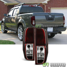 For 2005-2017 Frontier 2009-2012 Equator Red Smoke Tail Lights Brake Tail Lamps