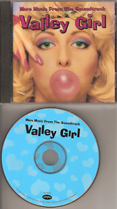 Valley Girl Soundtrack CD Very Clean Out Of Print RHINO FREE SHIPPING