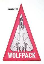 US.Navy F-14 Tomcat `VF-1 WOLFPACK` Cloth Badge / Patch (F14-29)