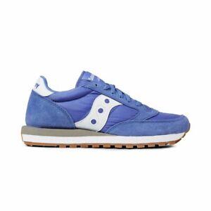 Hot sale!! Saucony Jazz Original S1044-442 Blue White Women's Running Shoes
