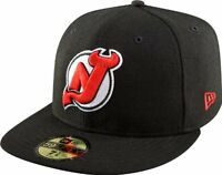 New Era 59Fifty NHL New Jersey Devils Black Fitted Cap