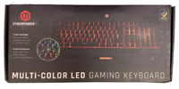 LED Gaming Keyboard Cyberpower, Pc, Multi-Color