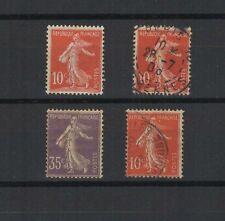 FRANCE 1906 timbre neuf et oblitérés type semeuse avec et sans sol  / T1752