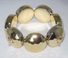 Goldtone Stretch Bracelet w Gp Greyhound Dog Charms Whippet Ig