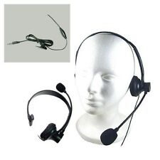 Operator Style 3.5mm Over the Head Mono Handsfree Headset For Samsung Galaxy S5