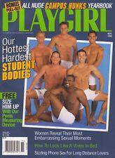 PLAYGIRL November 1998 MARIO LOPEZ Nude College Hunks TIM CARLTON long haired CF