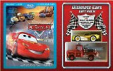 Cars (Blu-ray/DVD, 2009, 2-Disc Set, Ultimate Gift Pack; With Die-Cast Cars)
