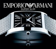 EMPORIO ARMANI MEN'S ROMAN SUPER SLIM COLLECTION WATCH AR2012