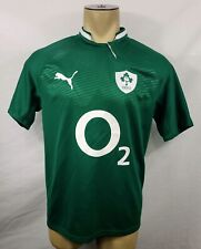 2011-12 Puma Ireland IRFU Rugby Union green home jersey size Large