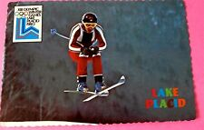 Downhill Skiing Whiteface Mountain Lake Placid New York Olympic Postcard Unused