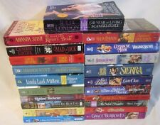 Lot of 21 Historical Romance Books Regency, Christmas, Others