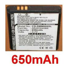 Batería 650mAh tipo CS-SMM608SL CA0959 Para Samsung M608B