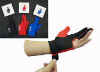 US FREE SHIPPING NOW Kamui Quick Dry Billiard Pool Cue Glove Black/Blue/Red/Pink