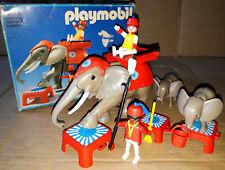 Vintage 80's Playmobil 32519 CIRCUS ELEPHANT éléphants du cirque ZIRKUS Elefant