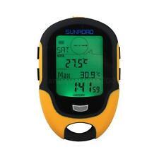 Sunroad FR500 LCD Digital Altimeter Barometer Compass Thermometer Hygrometer