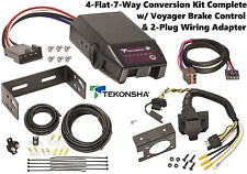 1995-2003 FORD WINDSTAR TEKONSHA 4FLAT-7WAY CONVERSION W/ VOYAGER BRAKE CONTROL