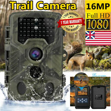 Hunting Trail Camera 16MP 1080P Farm Security Wildlife Scouting Cam Waterproof