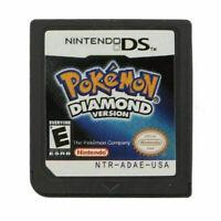 Pokemon Diamond Version Nintendo DS,2007  Game Card For DS 3DS