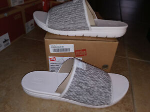 NEW $69 Womens FitFlop Artknit Slide Sandals, size 9                       shoes