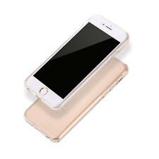 Full 360°Shockproof Silicone Clear Case Cover For Apple iPhone 5/5S/6/6S /6SPlus