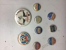 Hamms Bear Button Pins