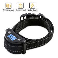 Rechargeble LCD Automatic Anti Barking No Barking Beep Shock Dog Training Collar