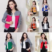 Fashion Women Loose Cardigan Knit Jumper Sweater Tops Casual Jacket Outwear Coat